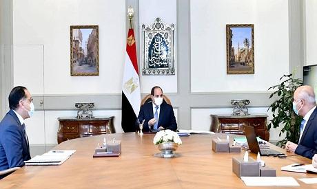 Sisi, Madbouly and El-Wazir