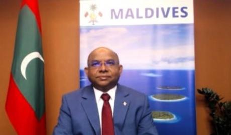 Maldivian Foreign Minister Abdulla Shahid