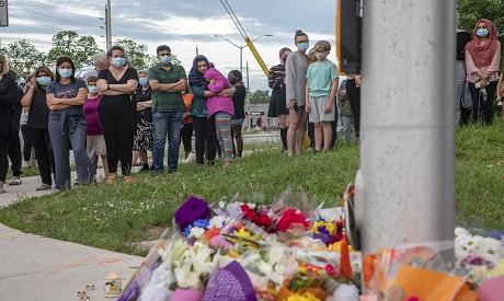 Canada hate Crime. AP photo