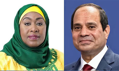President Abdel-Fattah El-Sisi & Samia Suluhu