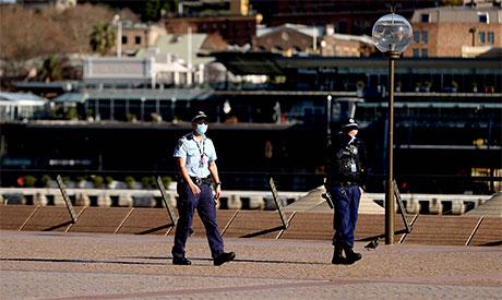 Sydney under lockdown