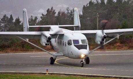 An-28 passenger plane