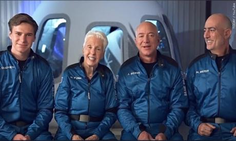 Crew of Blue Origin spacecraft