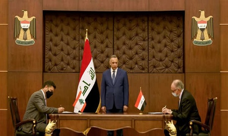 Iraq, Lebanon sign deal to swap fuel oil for medical services. AFP