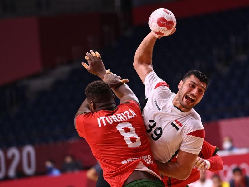 Egypt v Portugal handball