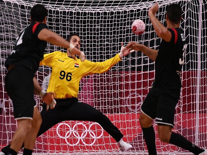 Egypt handball team vs. Denmark