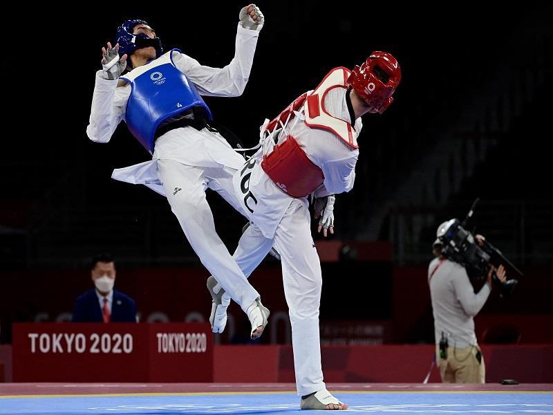 Taekwondo fighter Seif Issa