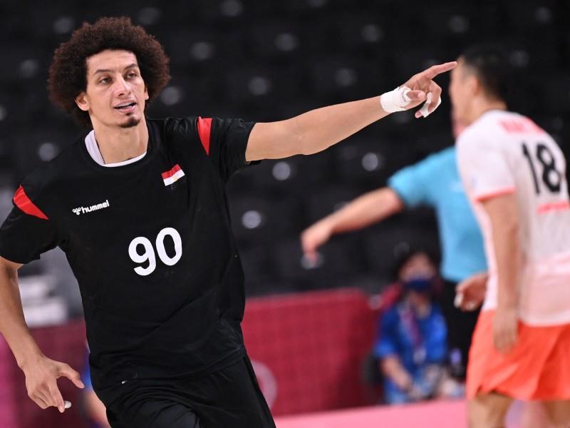 Handball: Egypt v Japan