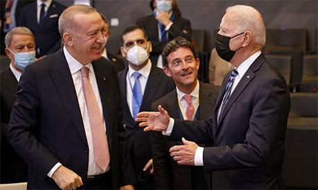 Joe Biden & Recep Tayyip Erdogan