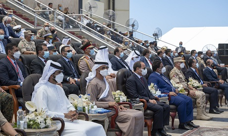 Sisi and Mohamed bin Zayed