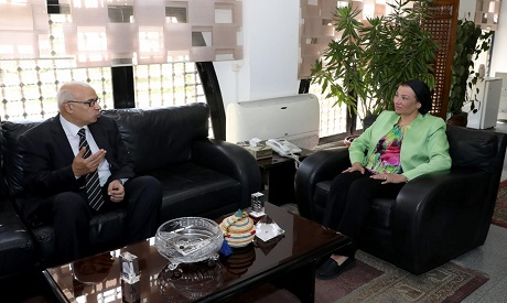 Environment Minister Yasmine Fouad