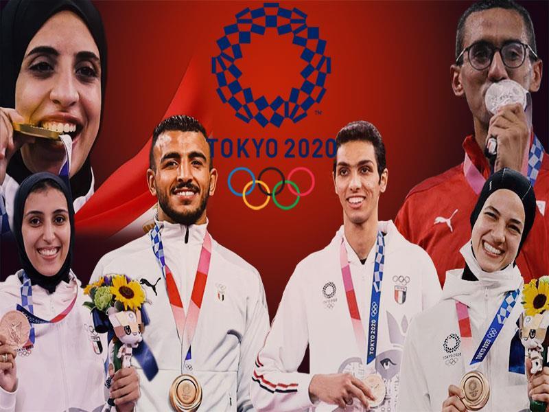 Tokyo Olympics Egyptian champions