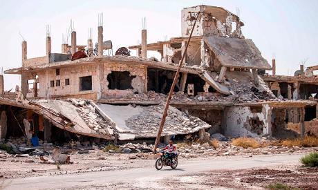 Daraa destruction
