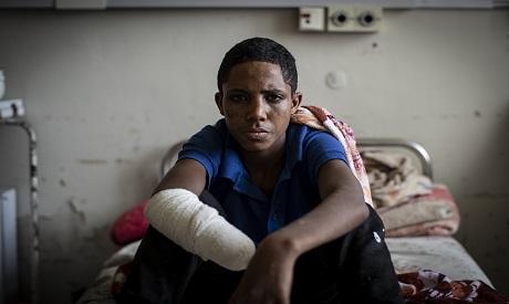 Injured in Tigray
