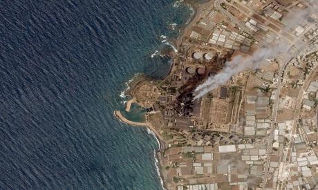 Syria refinery spillage