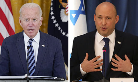 Joe Biden & Naftali Bennett