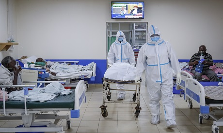 Covid patients in intensive care unit/Kenya