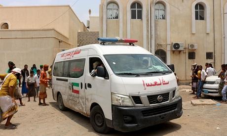 Ambulance in Yemen