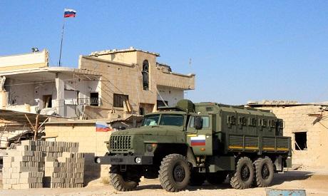Russian units in Daraa