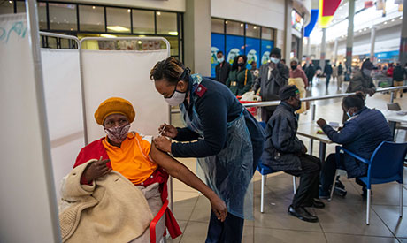 vaccination in South Africa