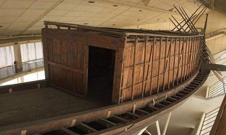Khufu boat