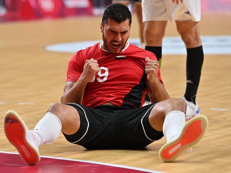 Egypt v France handball