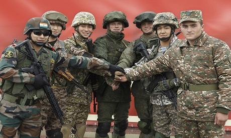 Russia Belarus joint drills . AP