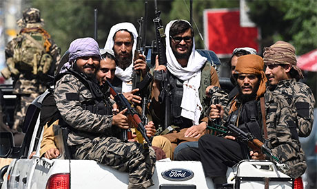 Taliban fighters. File photo: AFP