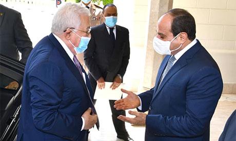 Abdel-Fattah El-Sisi & Mahmoud Abbas