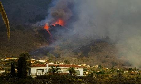 Volcano, Spain