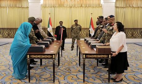Sudan transitional council