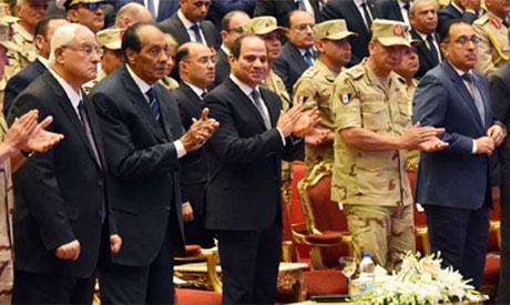 Mohamed Hussein Tantawy & President Sisi