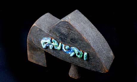 A ceramic artwork by Gamal Hanafy