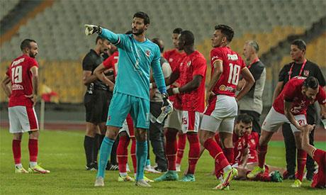 Al-Ahly players