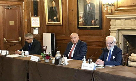 Shoukry at the Council on Foreign Relations