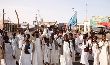 Protests in Port Sudan