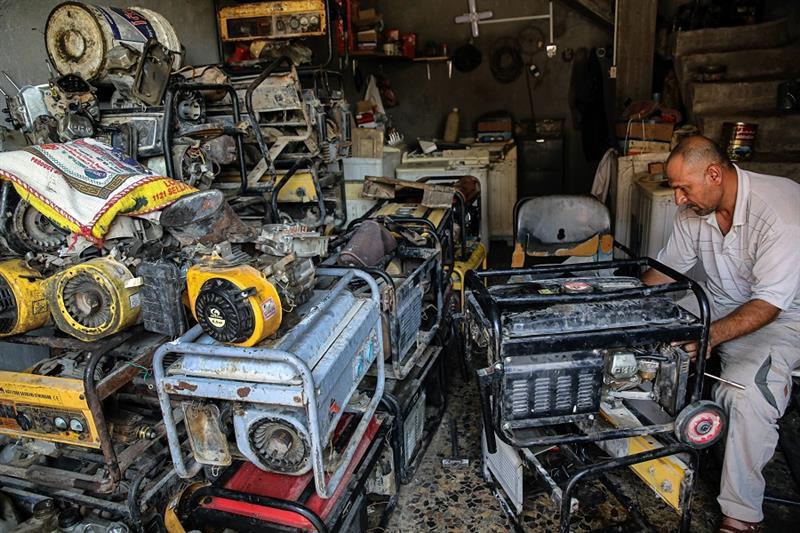 Electricity, Iraq