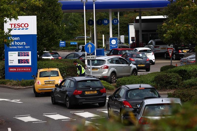 Gas Station, Britain