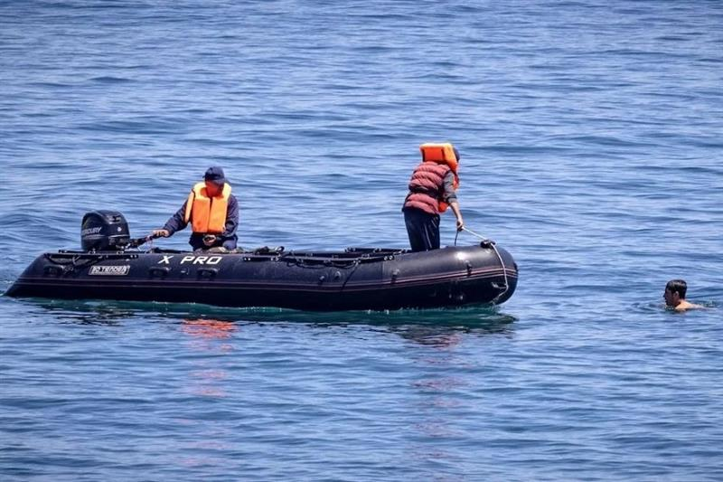 illegal immigrants rescued off Moroccan coasts