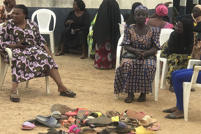 Parents of abducted school children