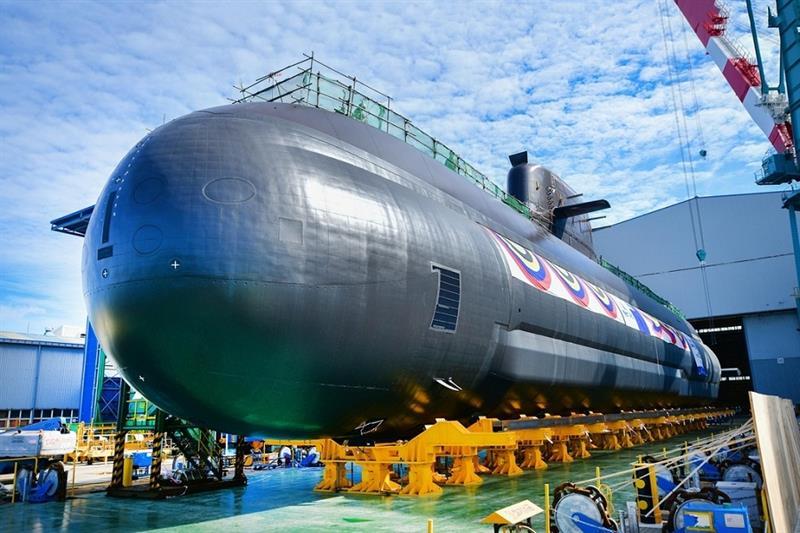 South Korea s new 3,000-ton-class submarine