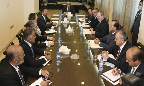 Syria and Lebanon Talk Fuel, Electricity