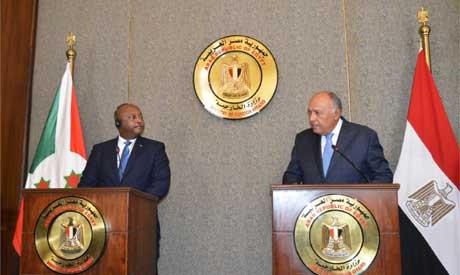 FMs of Egypt and Burundi