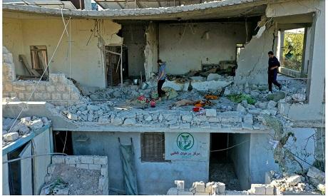 Syria/new strike
